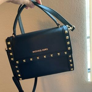 Michael Kors purse black Dillon bag